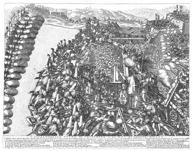 the-assault-on-the-post-of-castile-21st-august-1565