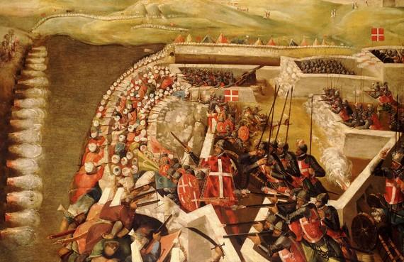 assualt-on-post-of-castlian-knights