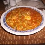 Kusksu ( broad bean soup)