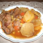 Bragoli (meat olives ) in stew
