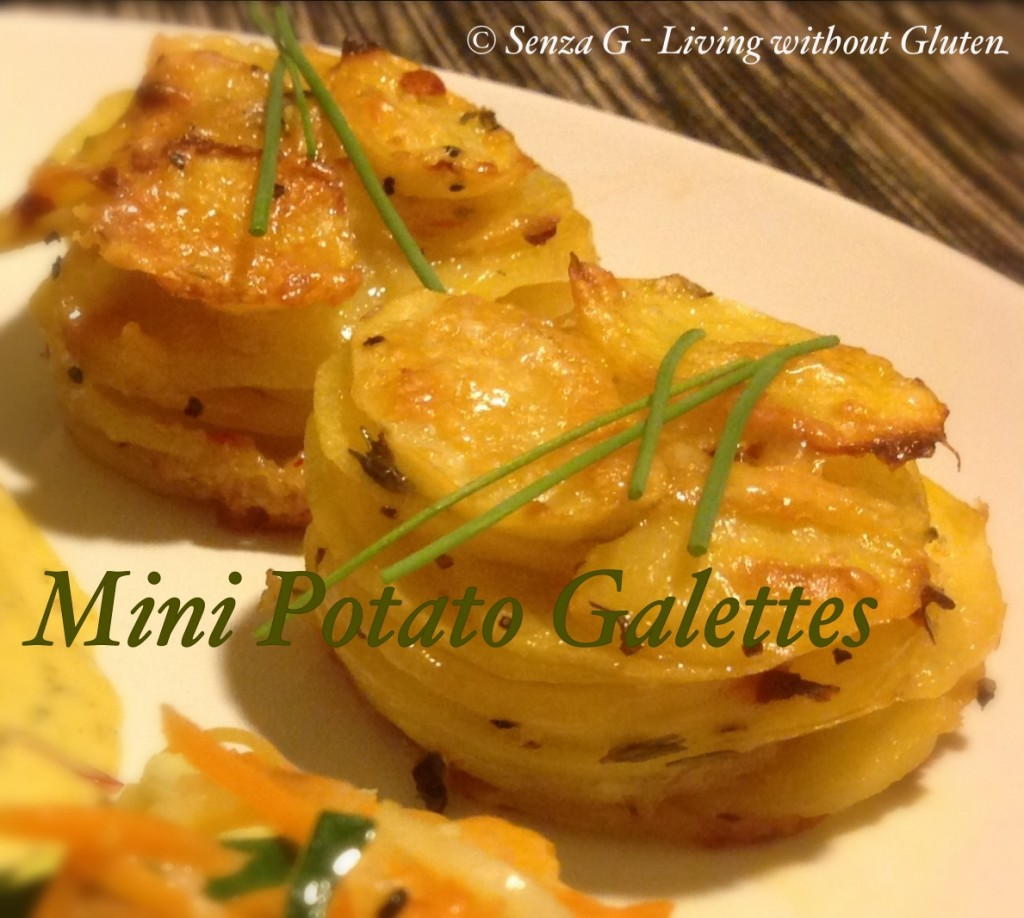 Gluten Free Potato Galette | i love maltese food