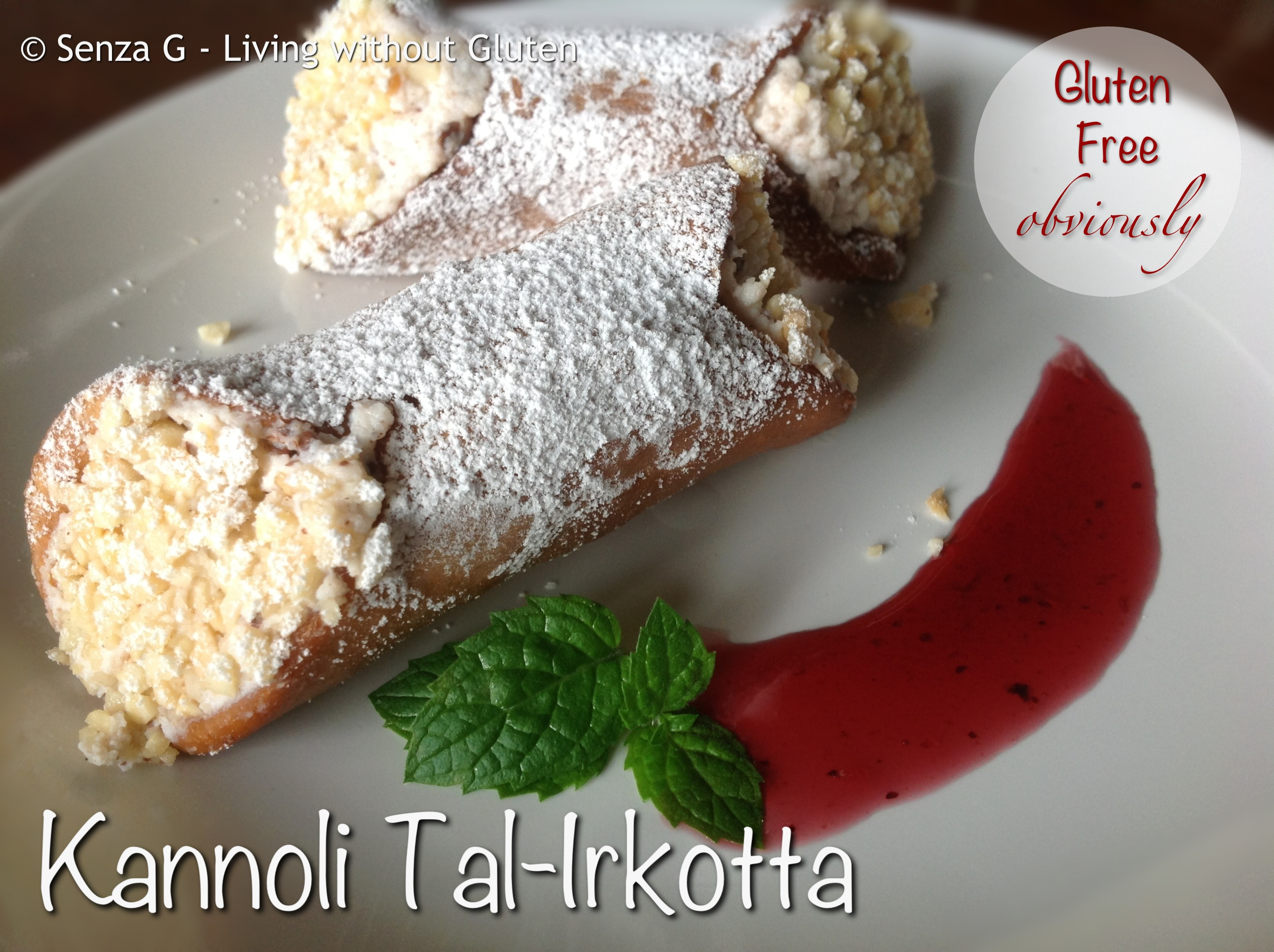 Gluten Free Kannoli Tal-Irkotta (Ricotta Cannoli) | i love maltese ...
